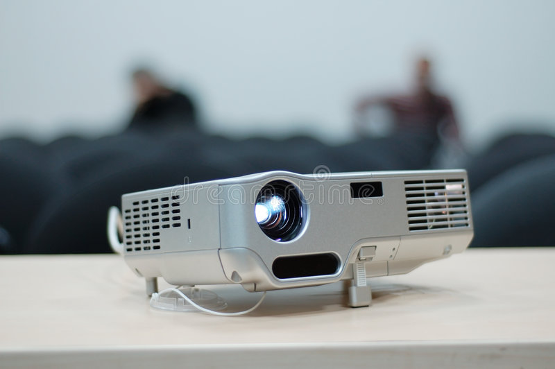 Digital-Projektor stockbild