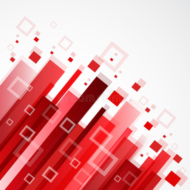 Digital red background stock illustration