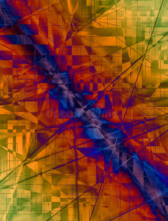 Digital-Reich 004 vektor abbildung
