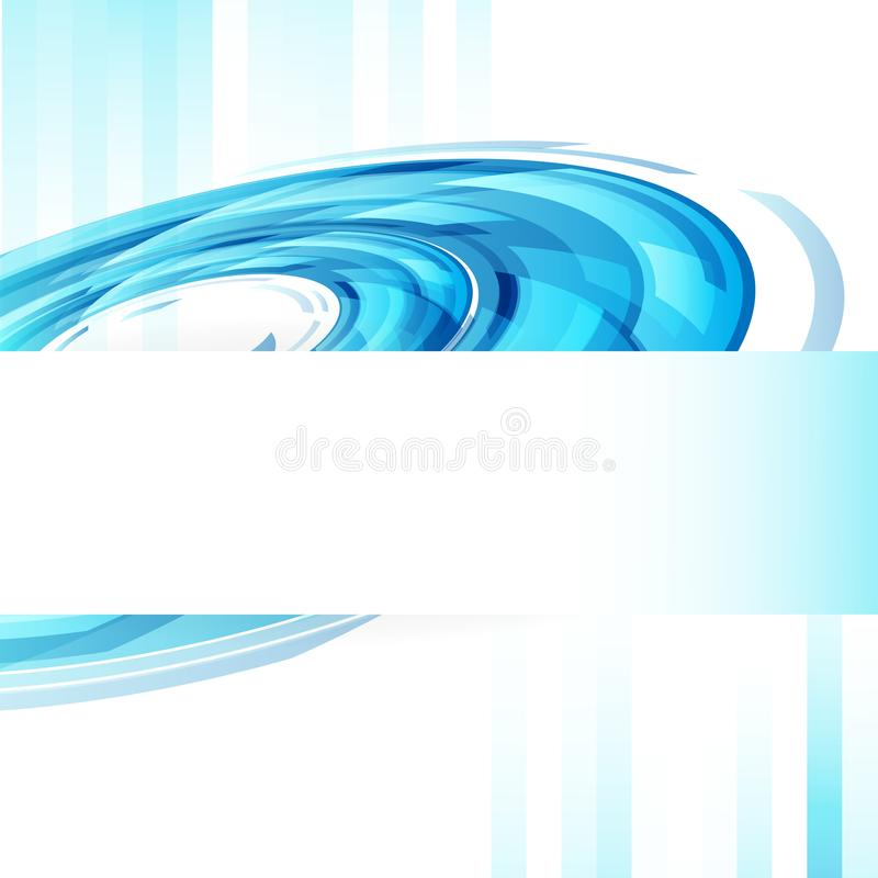 Digital ring circles technology web template banner cover concept abstract background vector illustration vector illustration