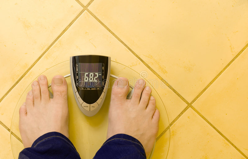 Download Digital Scale stock image. Image of bath, overweight, foot - 4071787