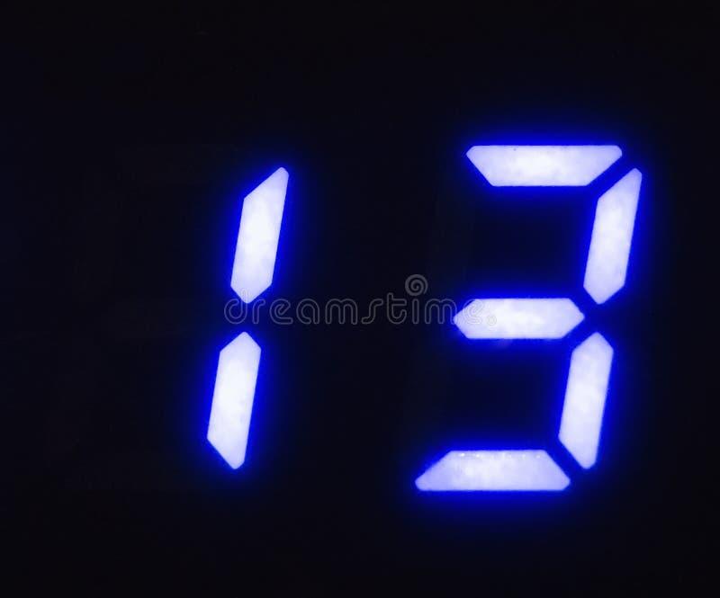 Digital scoreboard Figure 13. Neon numbers stock image