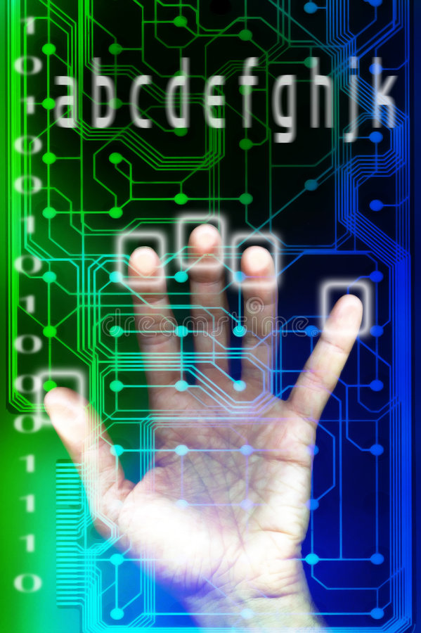 Download Digital security stock photo. Image of binary, future, security - 563232