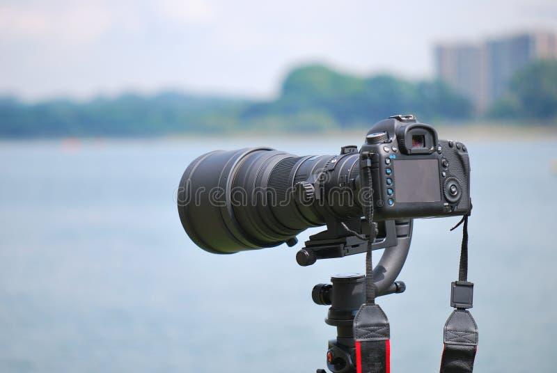 Digital SLR lizenzfreie stockbilder