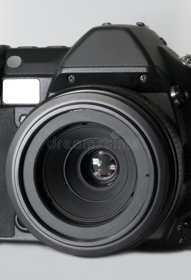 Download Digital Slr Camera With Macro Lens Stock Image - Image: 4632757