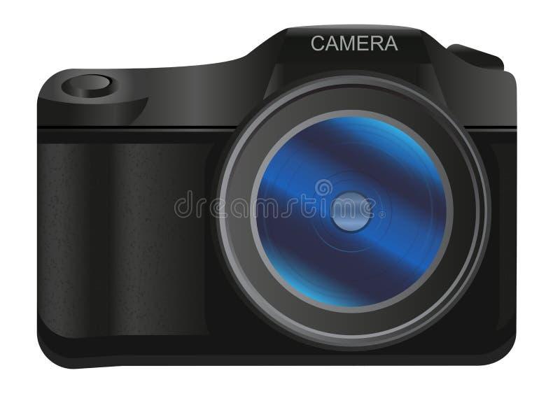 Digital SLR camera royalty free illustration