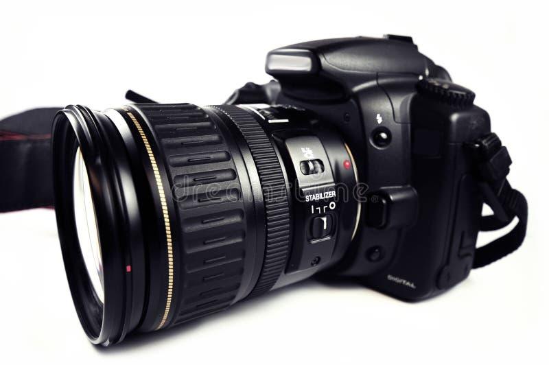 Digital SLR kamera fotografering för bildbyråer