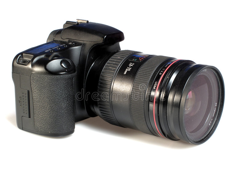 digital stor kamera royaltyfria foton