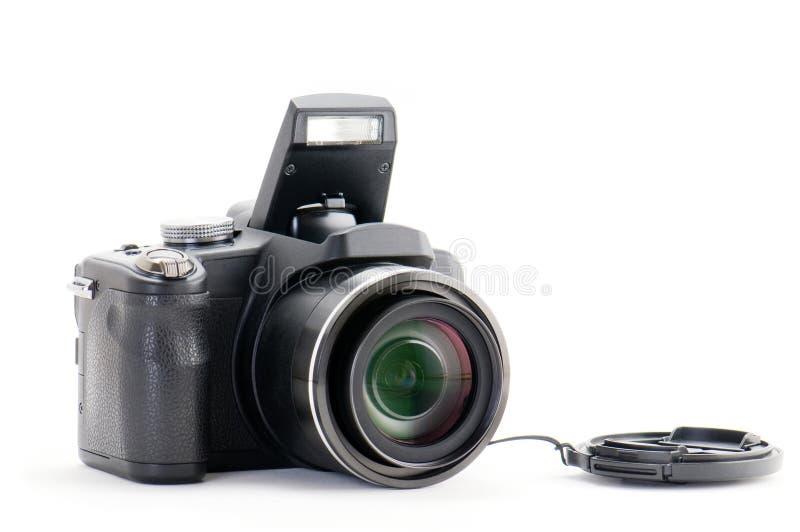 Digital superzoom camera stock photos