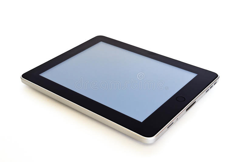 Digital tablet. On white background royalty free stock images
