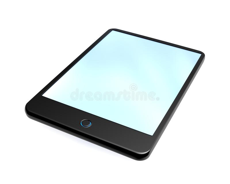 Download Digital Tablet With Blue Screen Stock Image - Image: 23336949