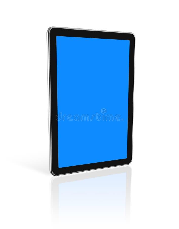 digital tablet för PC 3d royaltyfri illustrationer