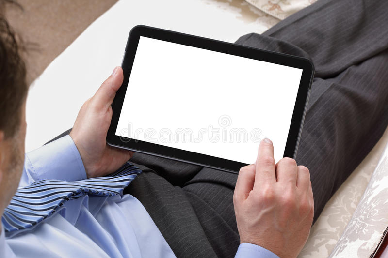 Digital-Tablette stockbild