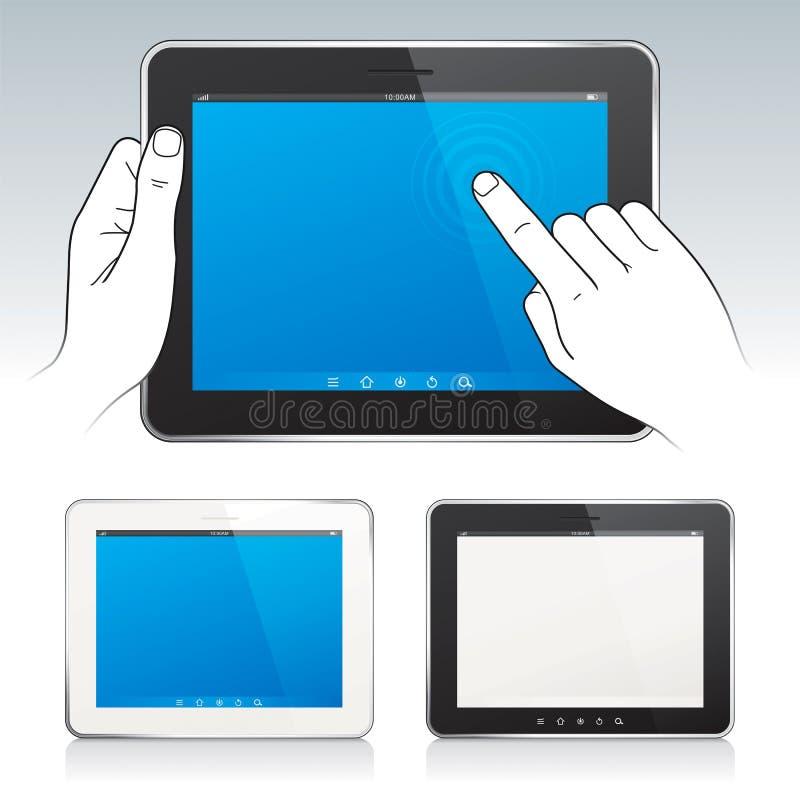 Digital-Tabletten lizenzfreie abbildung