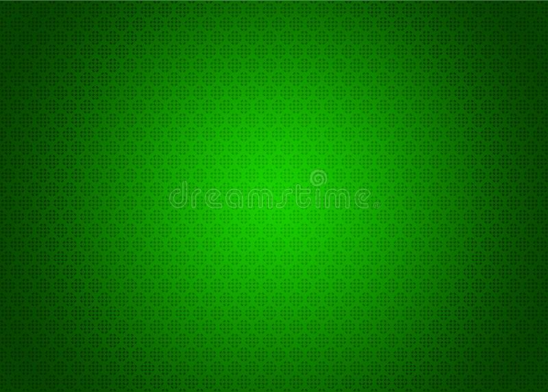 Neo Green Futuristic Japanese Dark and Light Techno Digital Oriental Ornamental Pattern Texture Background Illustration Wallpaper. Digital Techno System vector illustration