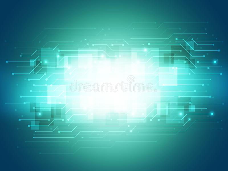 Digital Technology Background stock images