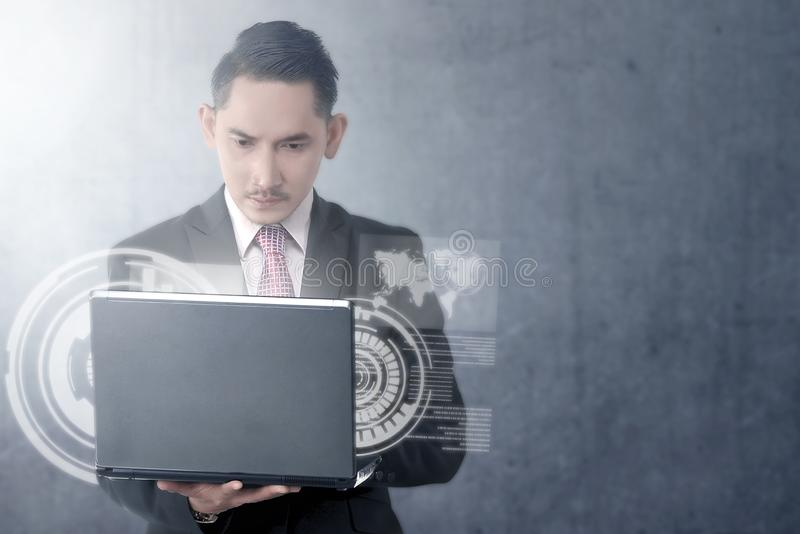 Digital technology concept stock photography