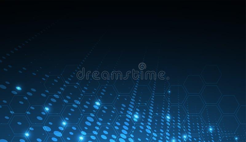 Digital technology world. Business virtual concept. Vector background. Digital technology world. Business virtual concept vector illustration