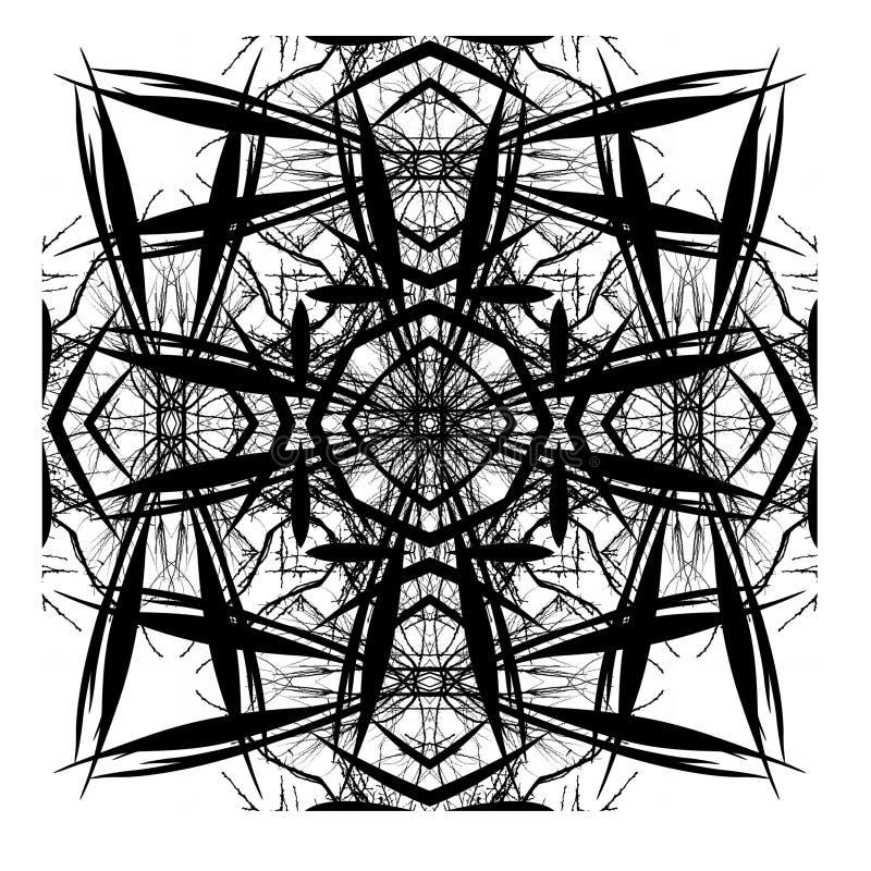 digital tegelplatta för abstrakt dekorativ design arkivbilder