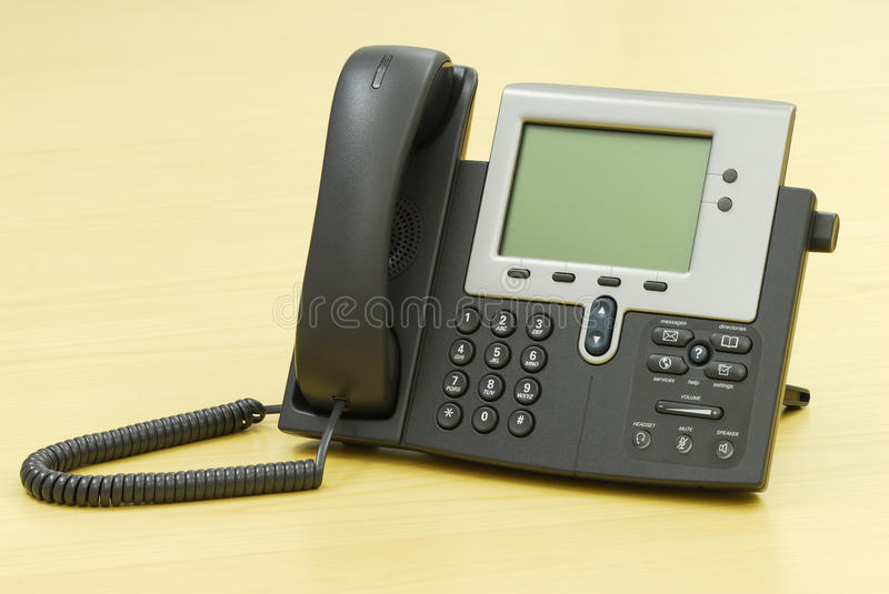 digital telefonvoip royaltyfria bilder