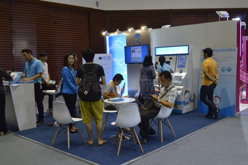"Digital Thailand 2016. ""Digital Thailand"" on 26-28 May, 2016, 8:00 -19.00 hrs. At Queen Sirikit National Convention Center, Bangkok thailand stock photo"