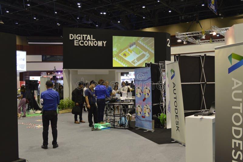 "Digital Thailand 2016. ""Digital Thailand"" on 26-28 May, 2016, 8:00 -19.00 hrs. At Queen Sirikit National Convention Center, Bangkok thailand royalty free stock photo"