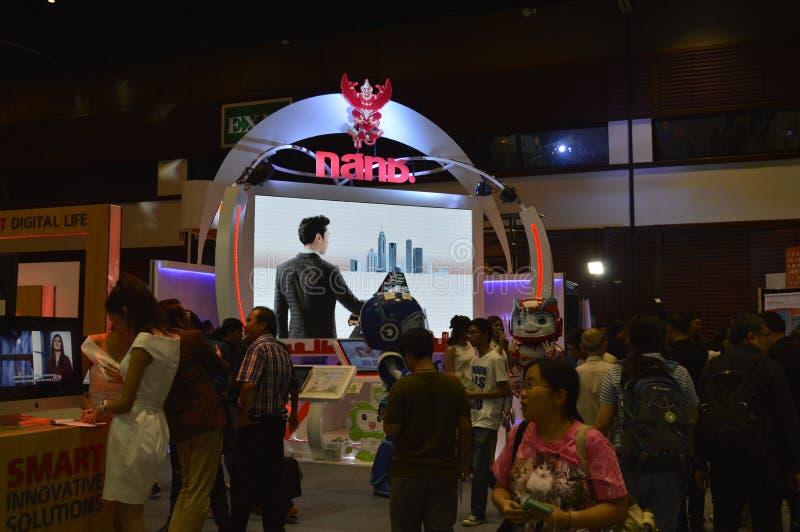 "Digital Thailand 2016. ""Digital Thailand"" on 26-28 May, 2016, 8:00 -19.00 hrs. At Queen Sirikit National Convention Center, Bangkok thailand stock photography"