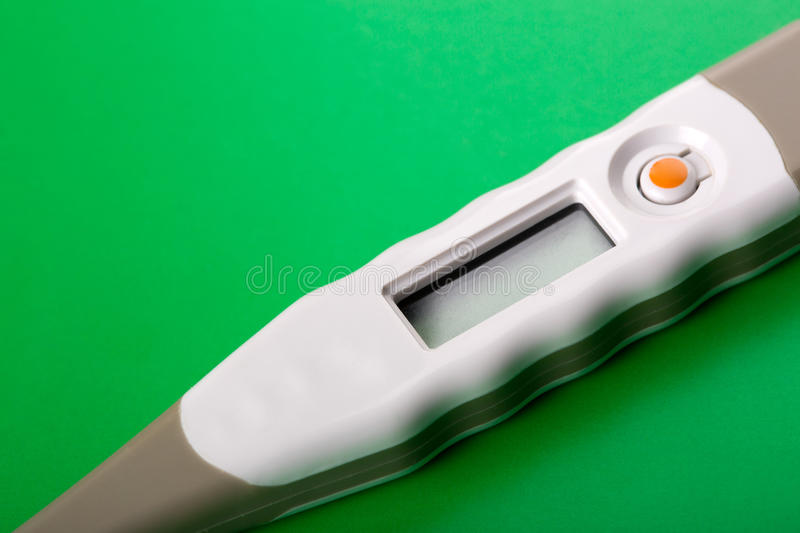 Download Digital thermometer stock photo. Image of single, part - 26315396
