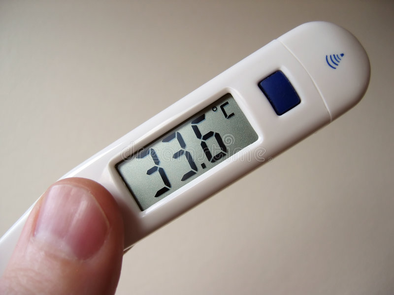 Digital Thermometer stock images