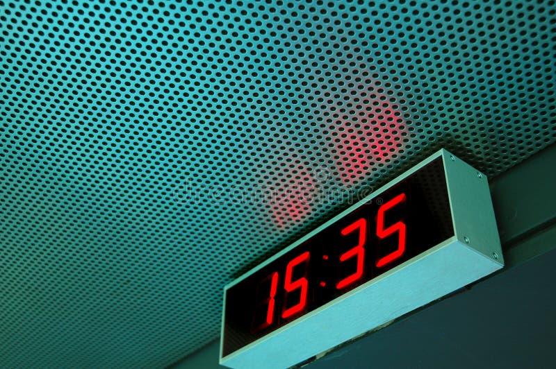 Digital Time stock photos