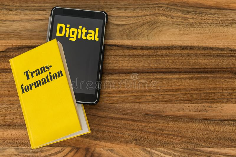 Digital Transformation Concept royalty free stock photo