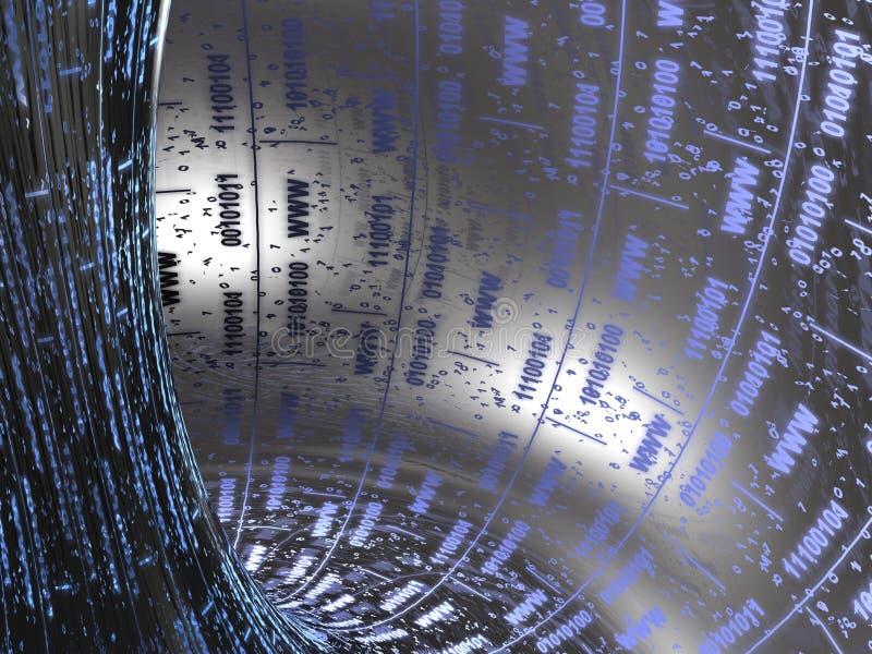 Download Digital tunnel fotografering för bildbyråer. Bild av dator - 19792375