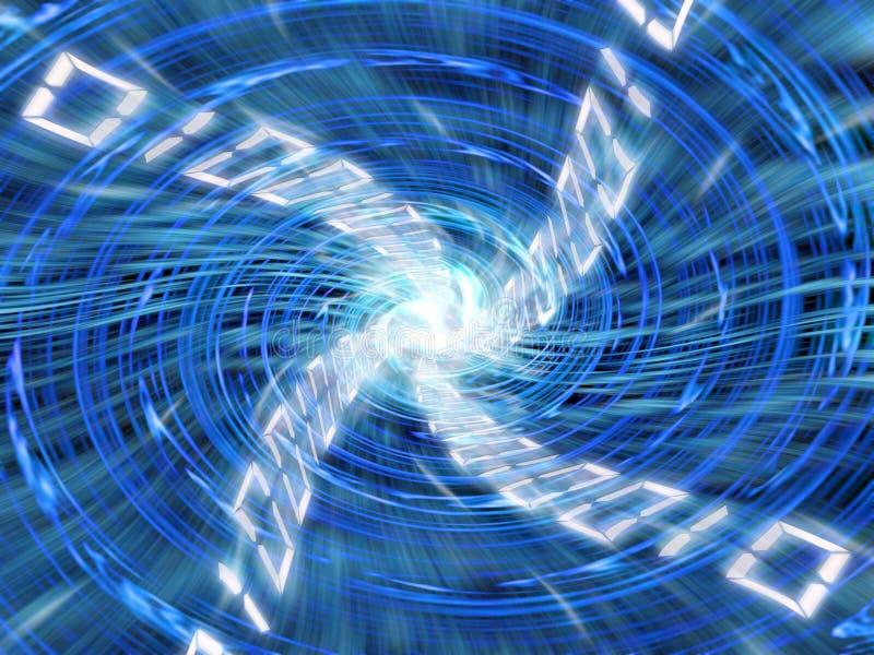 Digital-Turbulenz vektor abbildung