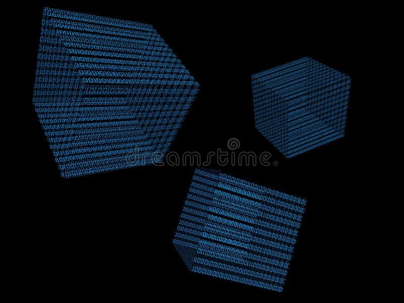 digital värld vektor illustrationer
