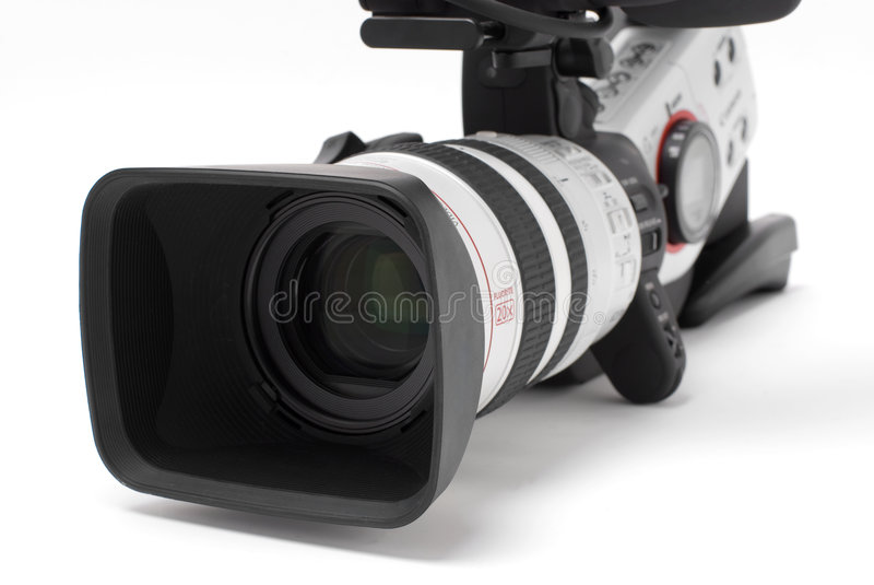 Digital video camcorder royalty free stock image