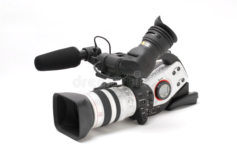 Digital video camcorder royalty free stock images
