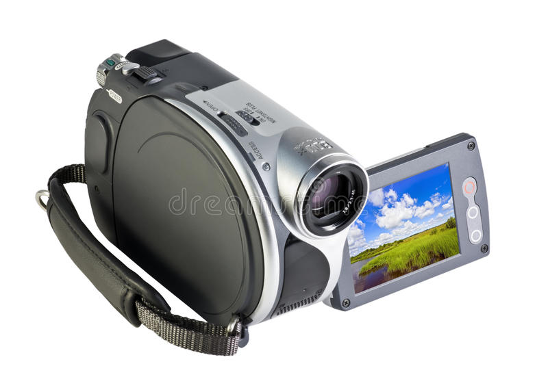 Digital video camera royalty free stock image