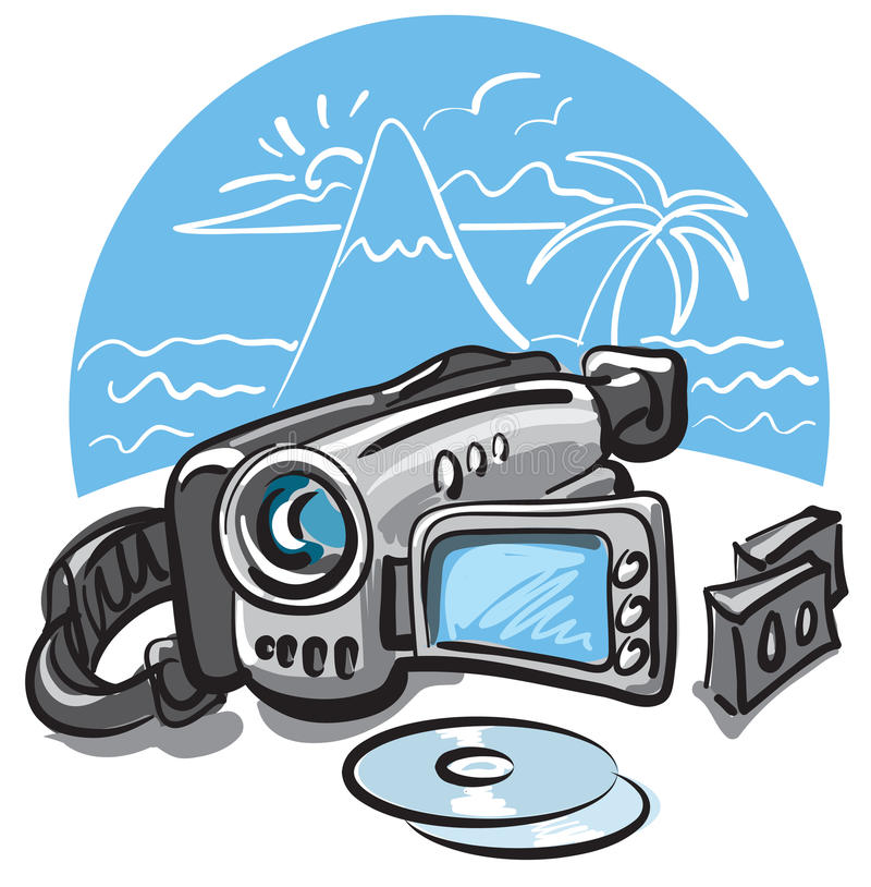 Free Digital Video Camera Royalty Free Stock Photography - 16107677