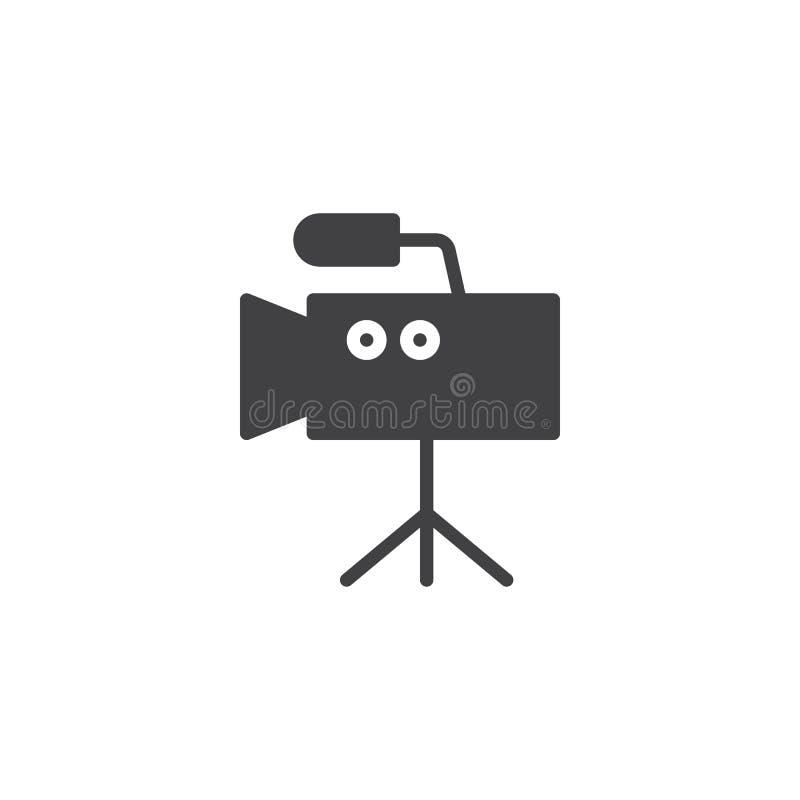 Digital Video Camera vector icon