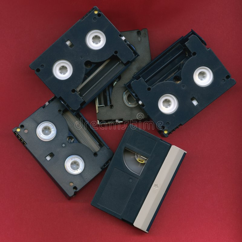 Download Digital Video Tape stock photo. Image of pile, magnetic - 5752012
