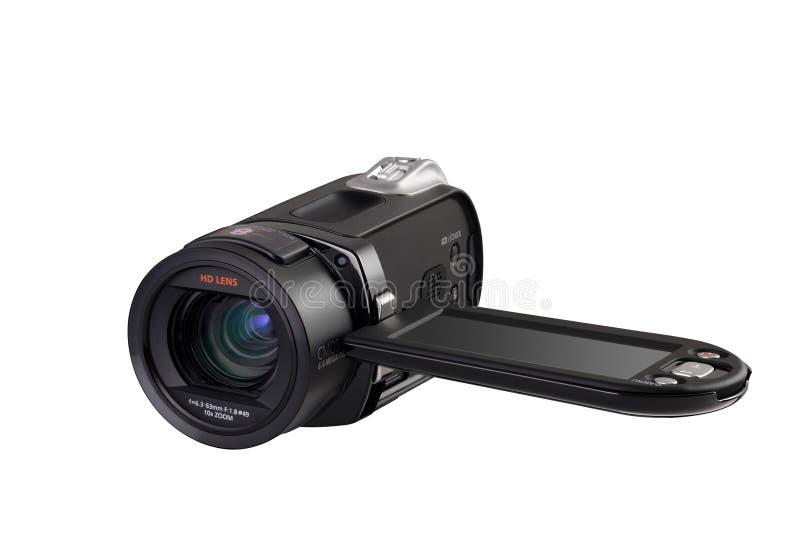 Digital videokamera arkivfoto