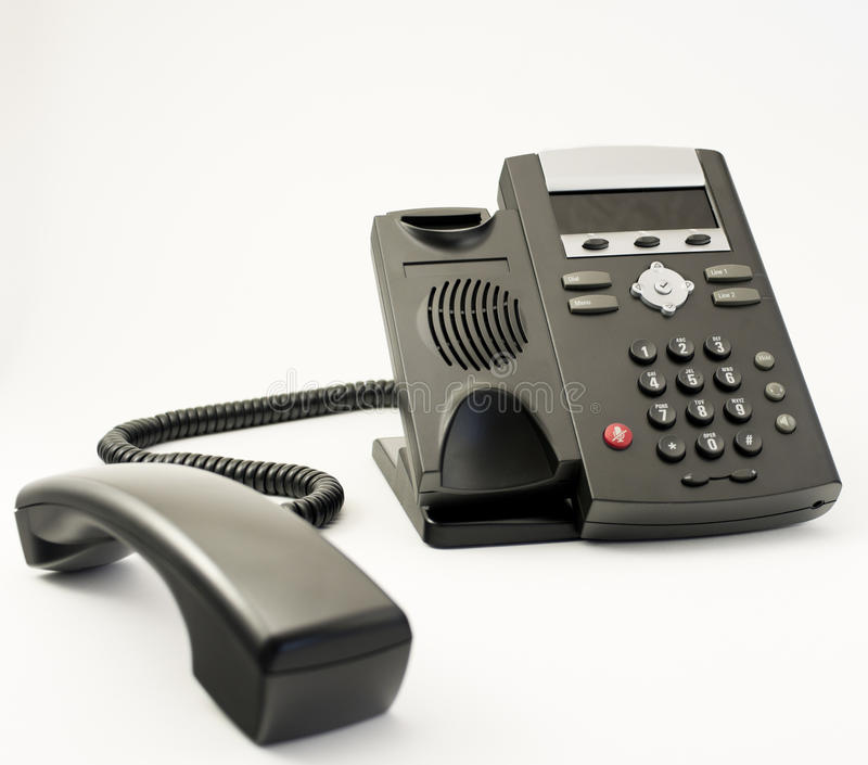Download Digital VOIP Phone, Isolated On White Background Stock Photography - Image: 18232442