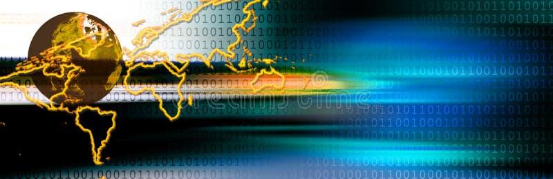 Digital-Vorsatz lizenzfreie abbildung