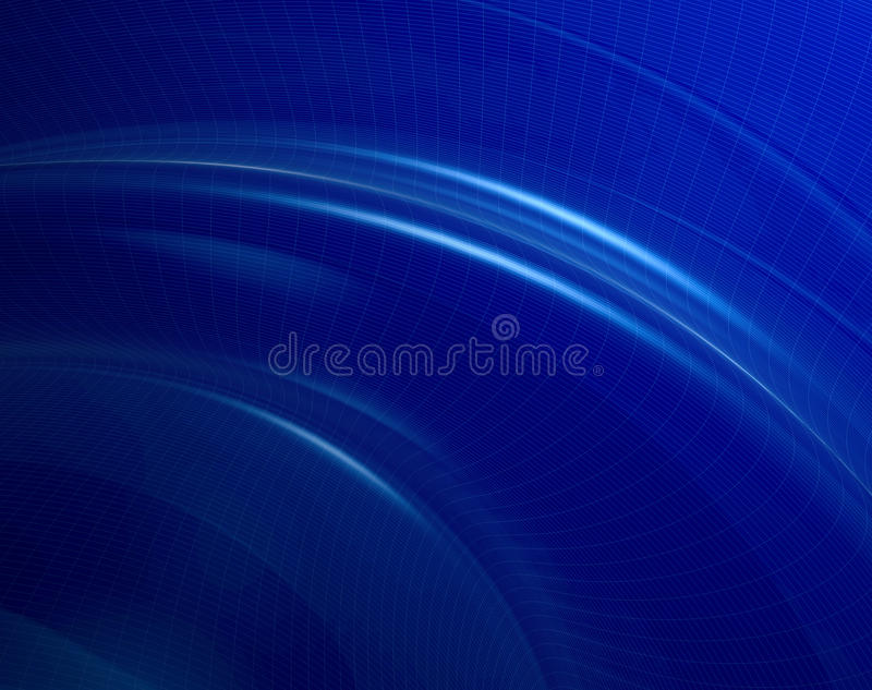 Digital Waves Stock Image