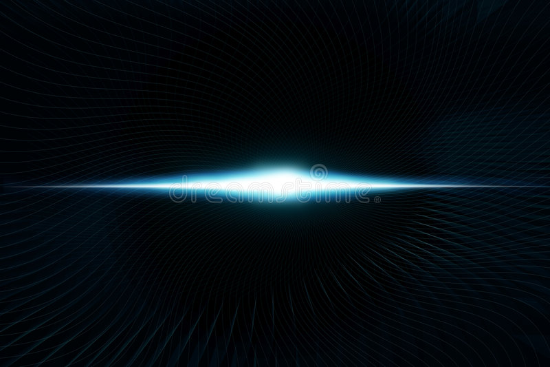Download Digital Waves stock illustration. Illustration of glow - 8850594