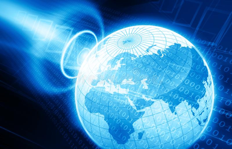 Digital-Welt vektor abbildung
