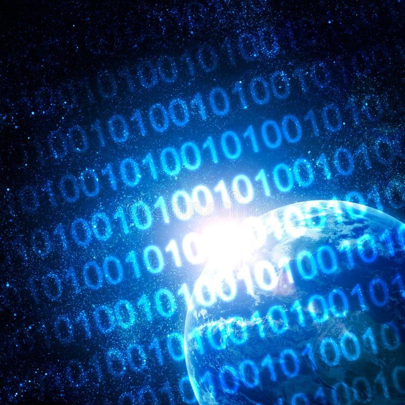Digital-Welt stockfoto