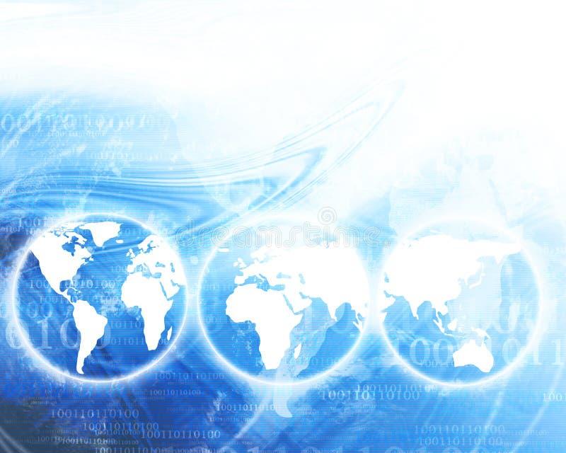Digital-Welt lizenzfreie abbildung
