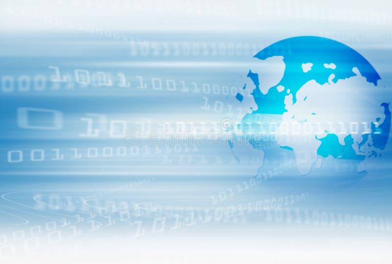 Digital-Welttechnologie lizenzfreie abbildung