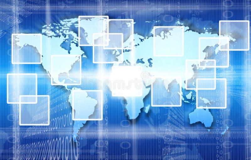 Download DIgital world stock illustration. Illustration of press - 18655352
